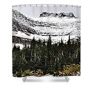 Glacier Park Bowlrock Shower Curtain