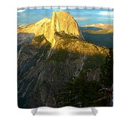 Glacier Point Tree Shower Curtain