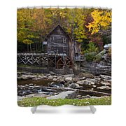 Glade Creek Grist Mill II Shower Curtain