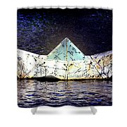 Glass Bottomed Boat Shower Curtain