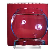 Glass Bowl Before Impact 1 Of 3 Shower Curtain