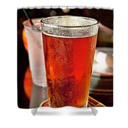 Glass Of Beer Shower Curtain