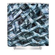 Glass Scales Shower Curtain