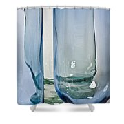 Glass Show Shower Curtain