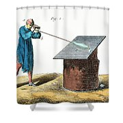 Glassblower, 18th Century Shower Curtain