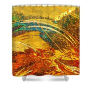 Glassworks Series-multicolor I Shower Curtain
