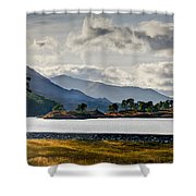 Glen Affric Panorama I Shower Curtain