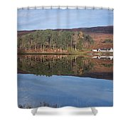 Glen Affric Reflections Shower Curtain