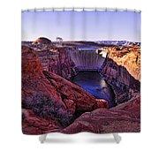 Glen Canyon Dam Shower Curtain