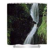 Glenariff Falls, Glens Of Antrim, Co Shower Curtain