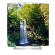 Glencar Waterfall, County Sligo Shower Curtain