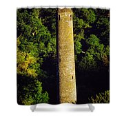 Glendalough, Co Wicklow, Ireland Round Shower Curtain