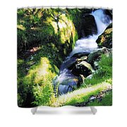 Glendalough, Co Wicklow, Ireland Shower Curtain