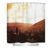 Glendalough, County Wicklow, Ireland Shower Curtain