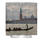 Gliding By Shower Curtain