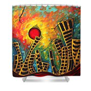 Glimmer Of Hope By Madart Shower Curtain