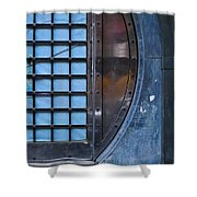 Glimmer Twin Shower Curtain