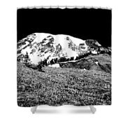 Glorious Mount Rainier  Shower Curtain