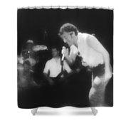 Glory Days - Bruce Springsteen Shower Curtain
