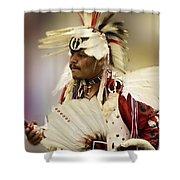 Pow Wow Glory Days Shower Curtain