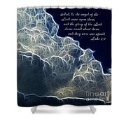 Glory Of The Lord Shower Curtain