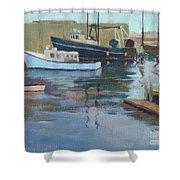 Gloucester Harbor Shower Curtain