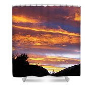 Purple Dusk Shower Curtain