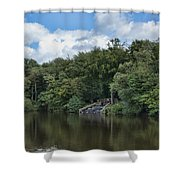 Gnoll Country Estate 2 Shower Curtain