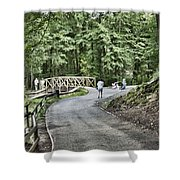 Gnoll Country Estate 3 Shower Curtain