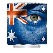 Go Australia Shower Curtain