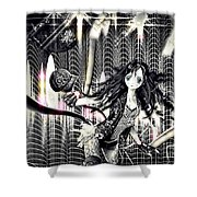 Go Dance Shower Curtain