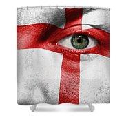 Go England Shower Curtain