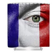 Go France Shower Curtain by Semmick Photo