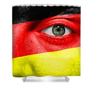Go Germany Shower Curtain by Semmick Photo