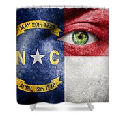 Go North Carolina Shower Curtain