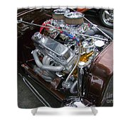 1938 Ford Roadster Go Power Shower Curtain