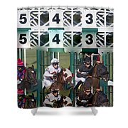 Go Time Shower Curtain