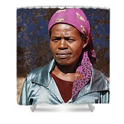 Godmother Of Ethiopia Shower Curtain