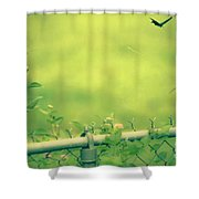 God's Love  Series One Shower Curtain
