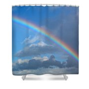 Gods Sign Shower Curtain