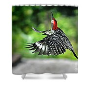 Going Home Shower Curtain