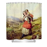 Going Home Shower Curtain by William Lee