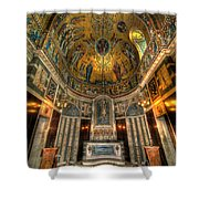 Gold And Holy Shower Curtain