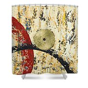 Gold And Silver 1 Shower Curtain