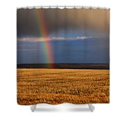 Gold At The End Of The Rainbow Shower Curtain