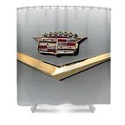 Gold Badge Cadillac Shower Curtain
