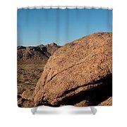 Gold Butte Sandstone Shower Curtain