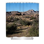 Gold Butte Tumbling Terrain  Shower Curtain