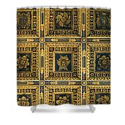 Gold Cathedral Ceiling Italy Shower Curtain