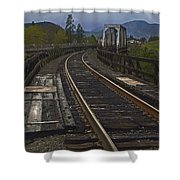 Gold Hill Crossing Shower Curtain